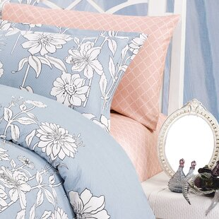 North Home Blinda 220 Thread Count 100% Cotton Sheet Set