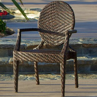 Marylyn PE Wicker Outdoor Arm Chair