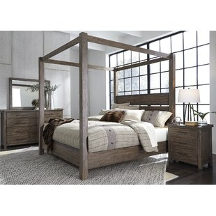 Claybrook Canopy Bed by Gracie Oaks