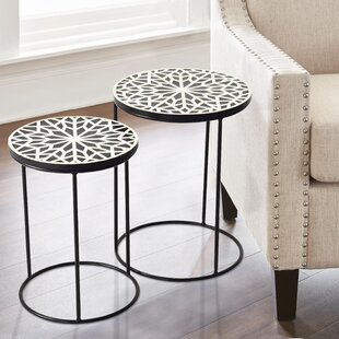 Jazelle 2 Piece Nesting Tables By Bloomsbury Market