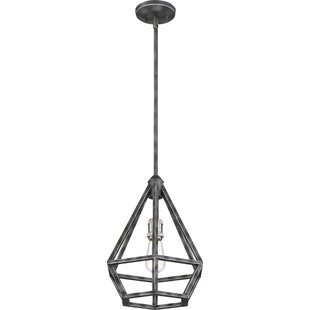 Brayden Studio Basil 1-Light Geometric Pendant