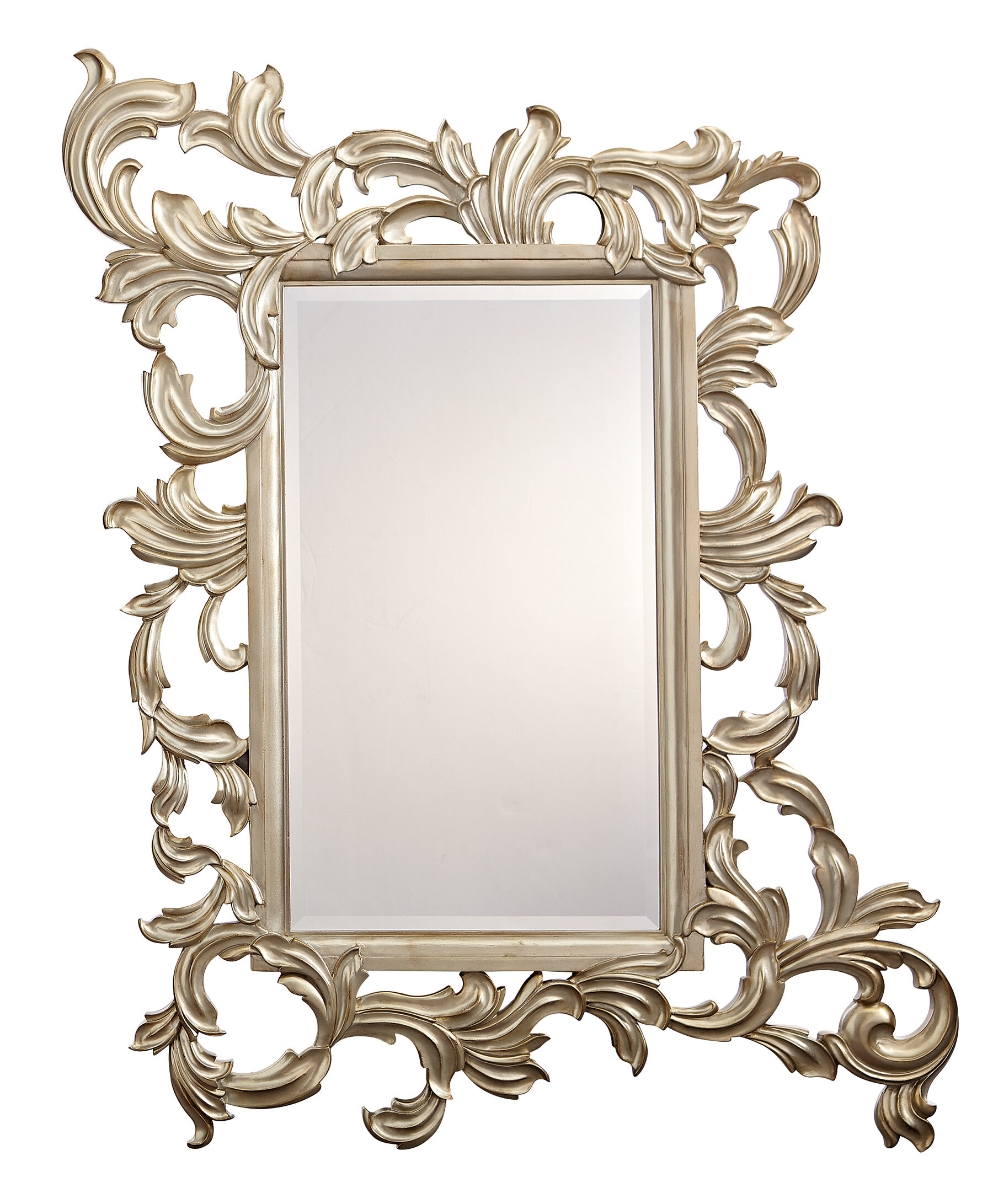 Caracole Compositions Fontainebleau Ornate Traditional Beveled Accent Mirror Perigold