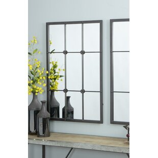 Kristofer Window Pane Wall Mirror
