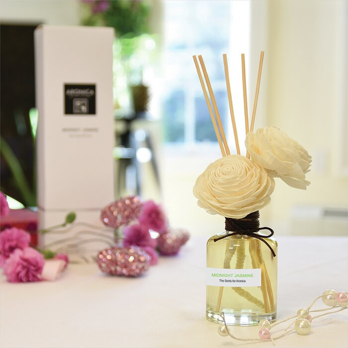 Twin Sola Flower Reed Diffuser - Midnight Jasmine