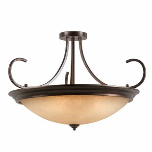 Edgewater 10-Light Semi Flush Mount by Darby Home Co