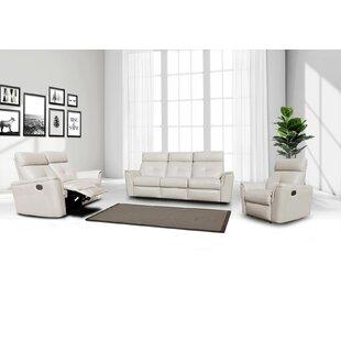 Rebekah 3 Piece Reclining Living Room Set