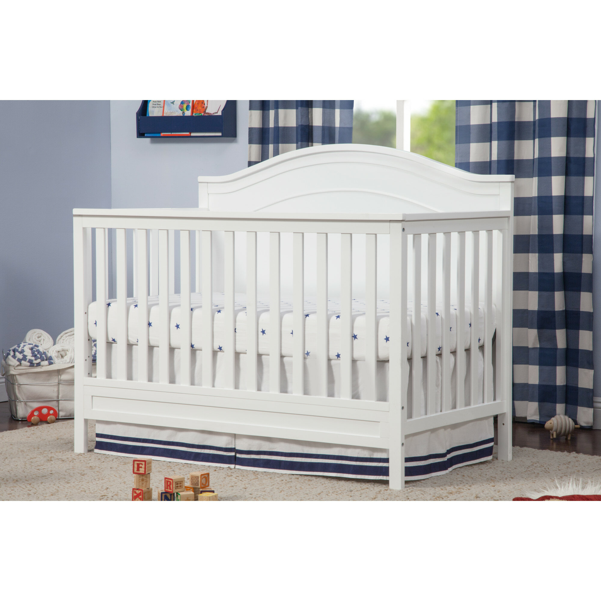DaVinci Charlie 4-in-1 Convertible Crib & Reviews | Wayfair