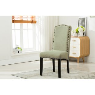 Bowdon Upholstered Dining Chair (Set Of 2) by Charlton Home Spacial Price