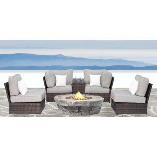 Simmerman 6 Piece Sectional Set with Cushions