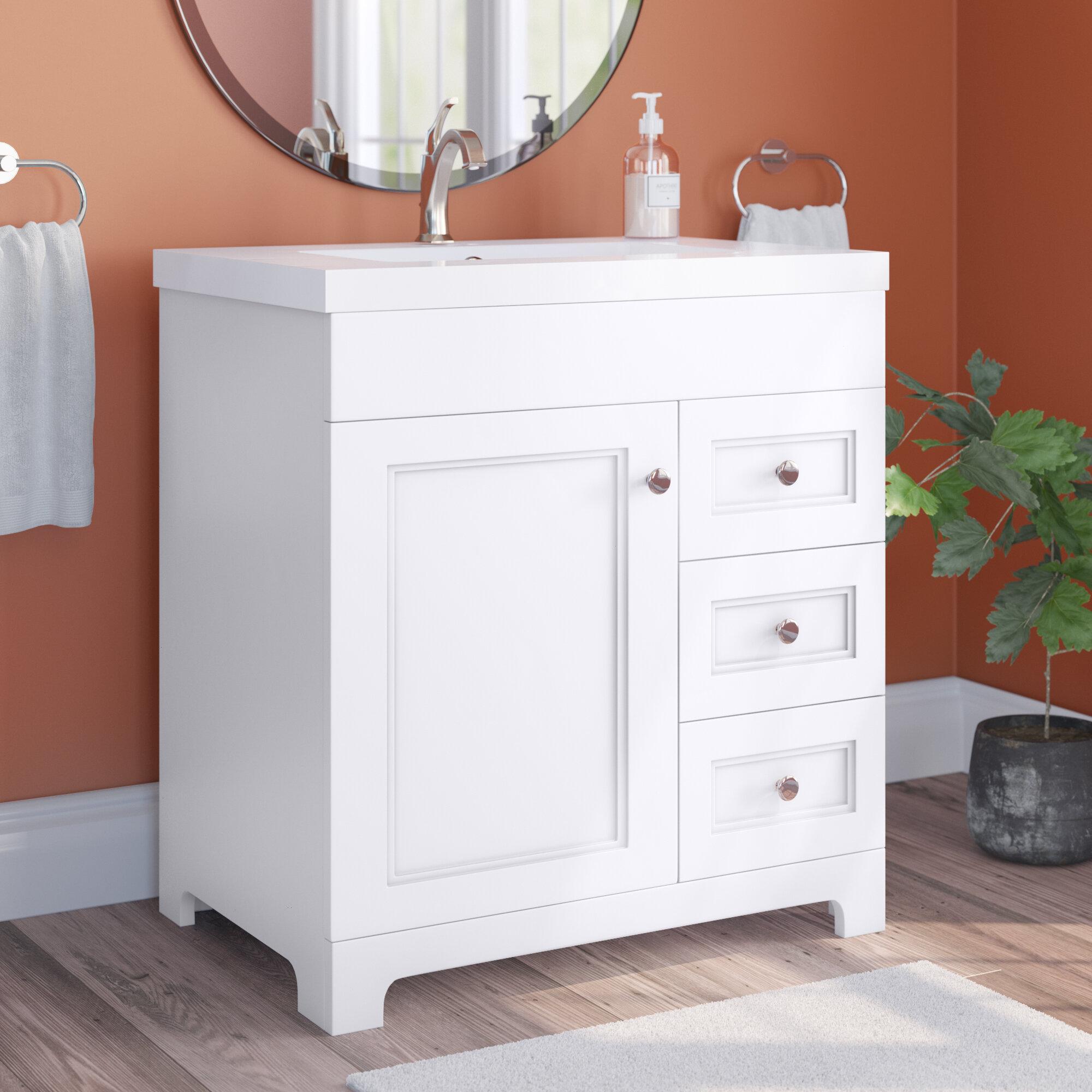 Winston Porter Slemp 30 15 Single Bathroom Vanity Reviews Wayfair