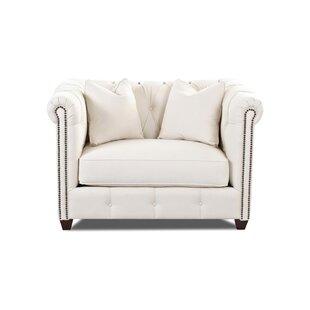 Wayfair Custom Upholstery™ Harrison Mid Century Chair and a Half