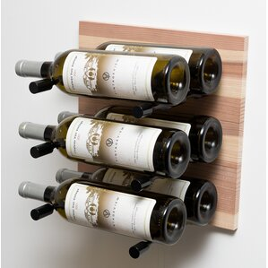 6 Bottle Wall Mounted Wine Rack by VintageView