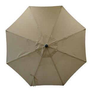 Longshore Tides Centeno Double Pulley 9' Market Sunbrella Umbrella