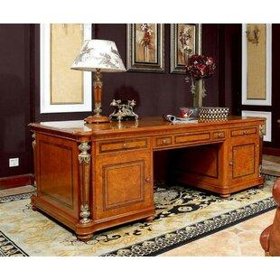 Leonor Executive Desk by Astoria Grand Best Choices