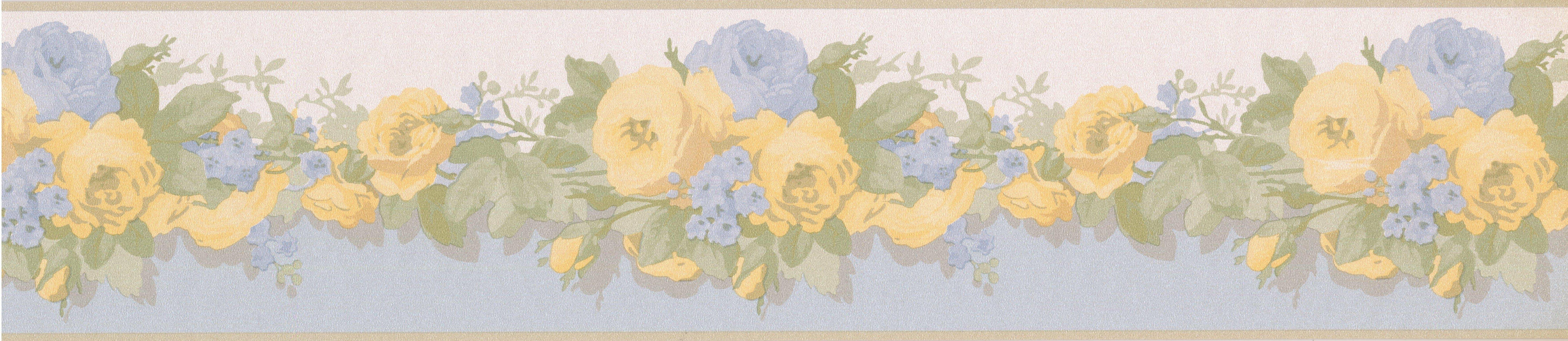 August Grove Boatner Bloomed Roses Retro Design 15\' L x 5\