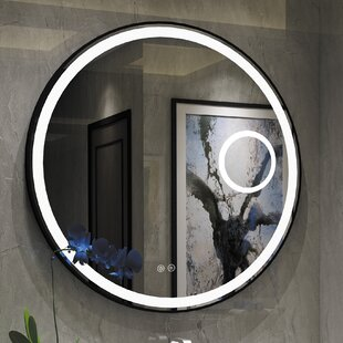 Compare prices Bode Embedded LED Daylight Bathroom Mirror ByOrren Ellis
