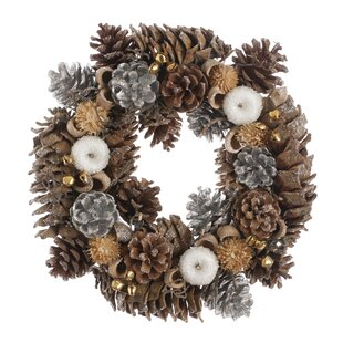 Decorated Wreath By The Seasonal Aisle