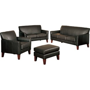 Read Reviews Nohoff 4 Piece Living Room Set by Alcott Hill Reviews (2019) & Buyer's Guide
