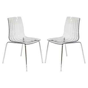 Orren Ellis Rachael Stacking Patio Dining Chair (Set of 2)