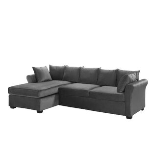 Chaise Sofa Grey Sectionals You\'ll Love   Wayfair