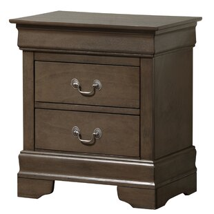 Babcock 2 Drawer Nightstand by Lark Manor