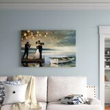 Twilight Romance - Picture Frame Print on Canvas