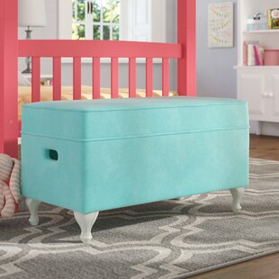 Leslie Upholstered Storage Bench by Viv + Rae Find