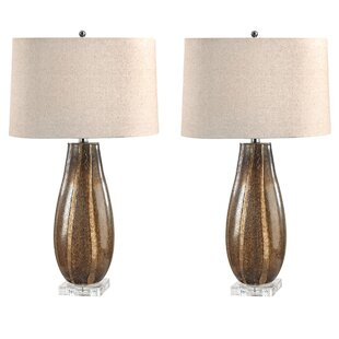 Buy clear Gordo Oval 28 Table Lamp (Set of 2) By Darby Home Co