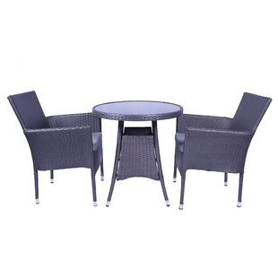 Marylyn 2 Seater Bistro Set With Cushions Image