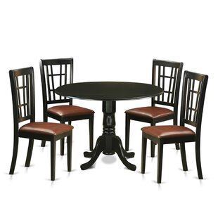 Spruill 5 Piece Extendable Dining Set by August Grove No Copoun