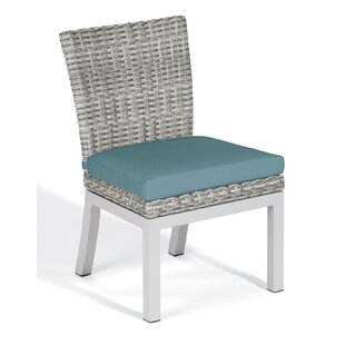 Lambright Patio Dining Chair with Cushion (Set of 2)