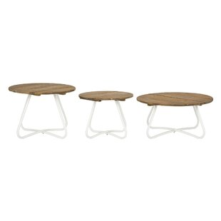 Latitude Run Smith 3 Piece Coffee Table Set