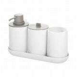 Jack 4 Piece Bathroom Accessory Set