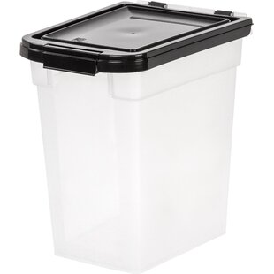 160 Oz. Food Storage Container by IRIS USA, Inc. Best Design