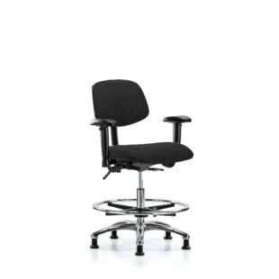 Best Reviews Freya Drafting Chair by Symple Stuff
