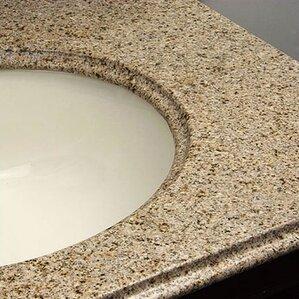 Granite Countertops Bathroom Vanity vanity tops you'll love | wayfair