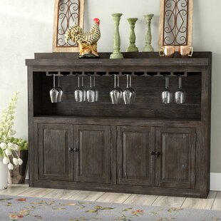 Logston Bar with Wine Storage by August Grove