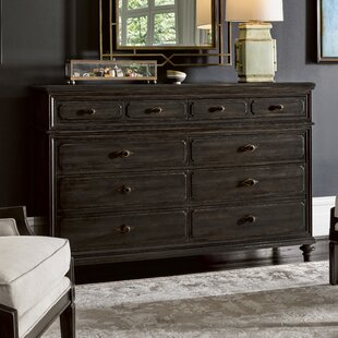 Darby Home Co Gallaway Front 8 Drawer Standard Dresser/Chest