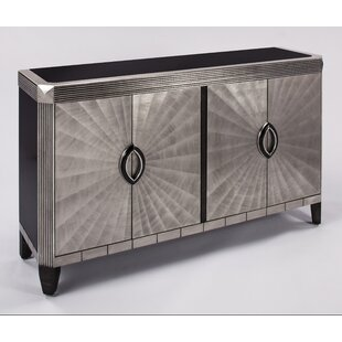 Affordable 4 Door Cabinet Accent Cabinet By Artmax