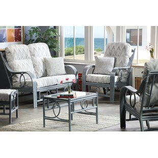 Valeria 5 Piece Conservatory Sofa Set By Beachcrest Home