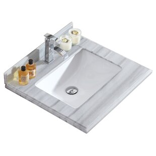 Reviews Odyssey 24 Single Bathroom Vanity Top By Laviva