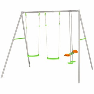 Trigano Axion Louise Swing Set By Freeport Park