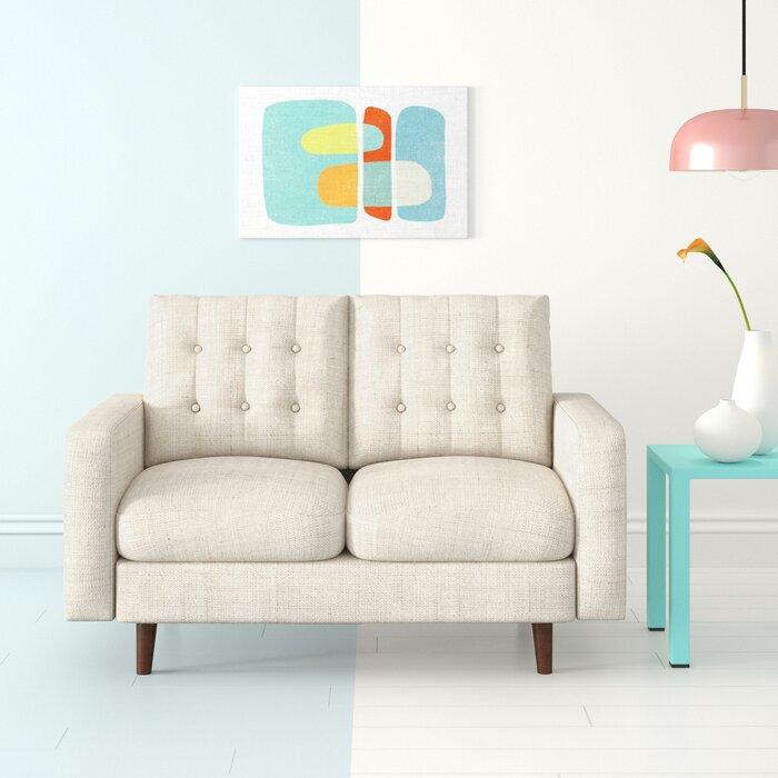 Surprising Sanborn Loveseat Creativecarmelina Interior Chair Design Creativecarmelinacom