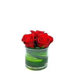 Roses Floral Arrangement in Vase