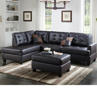 Alcott Hill Laforge Sectional with Ottoman
