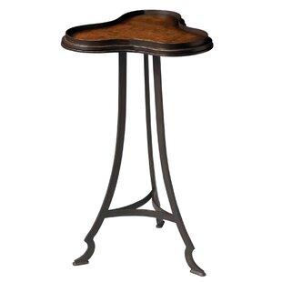 Compare prices Chryses Pedestal End Table by Fleur De Lis Living