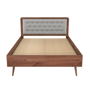 Hartlepool Queen Size Upholstered Panel Bed by Corrigan Studio Great price