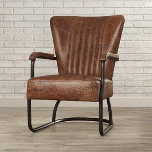 Chelsea Top Grain Leather Armchair By Trent Austin Design