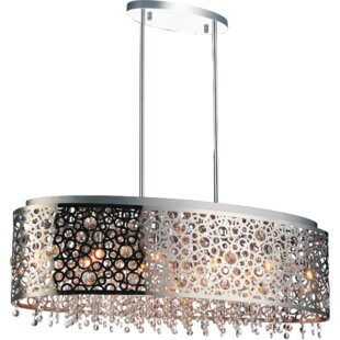 Latitude Run Zeke 11-Light Drum Chandelier