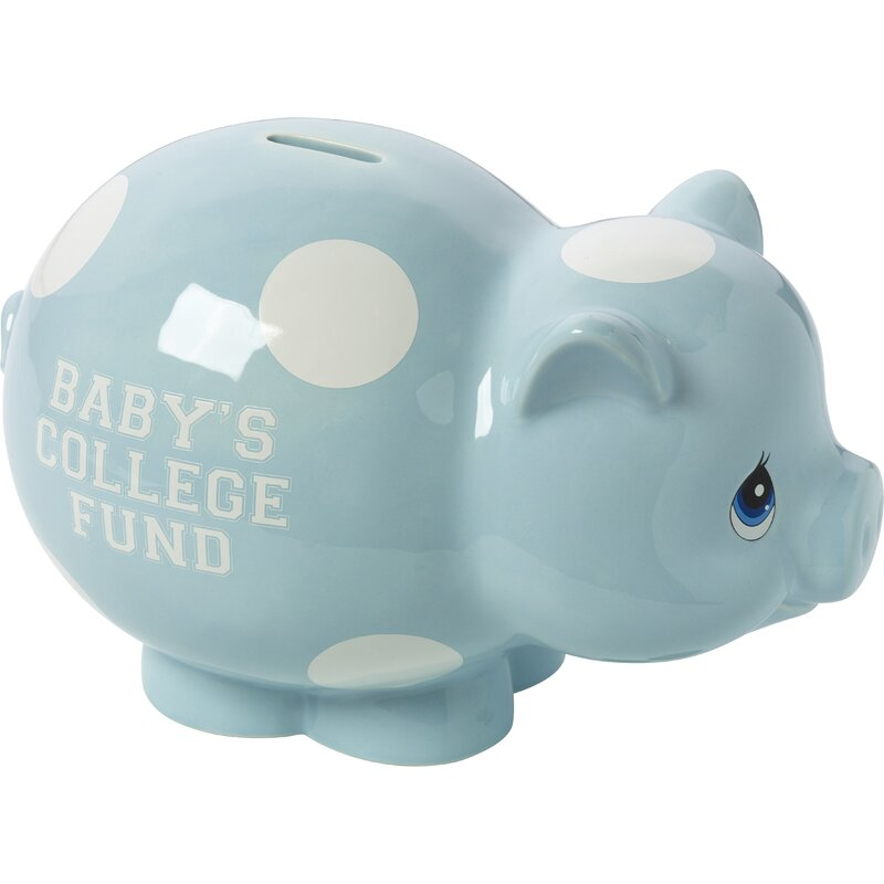 Precious Moments Baby Gifts Baby S College Fund Ceramic